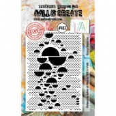 AALL & Create A7 Stamp #487 - Reverse Semicircles