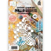 AALL & Create Die #22 - Checkered Figures