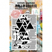 AALL and Create A7 Stamp #376 - Reverse Triangles