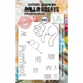 AALL and Create A7 Stamp Set #100 - Furry Friends 1