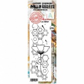 AALL and Create Border Stamp #206 - Hexagonal Stem