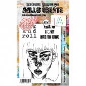 AALL and Create Stamp Set #220 - Rock and Roll