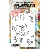 AALL and Create A7 Stamp Set #255 - Bird Lover