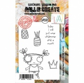 AALL and Create A7 Stamp Set #259 - Pineapple Queen