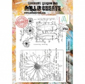 AALL and Create A4 Stamp #266 - Daisy Elegance