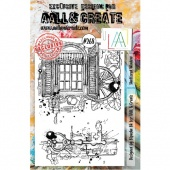 AALL and Create A5 Stamp Set #268 - Shuttered Window