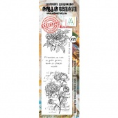 AALL and Create Border Stamp #273 - Unfurling Petals