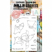 AALL and Create Stamp Set #290 - Squeaky Friends