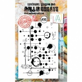 AALL and Create A7 Stamp Set #293 - Squared Digits