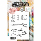 AALL and Create A7 Stamp Set #315 - Go Fish