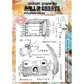 AALL & Create A4 Stamp #321 - Enjoy the Journey
