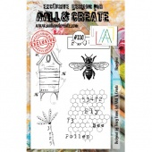 AALL and Create A5 Stamp Set #330 - Honeybee