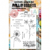 AALL and Create A5 Stamp Set #332 - Birthday Blooms