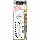 AALL and Create Border Stamp #335 - Beetle