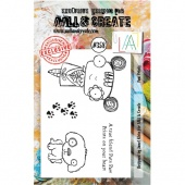 AALL and Create A7 Stamp Set #358 - Paw Prints