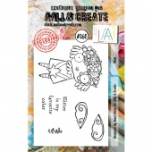 AALL and Create A7 Stamp Set #360 - Wish