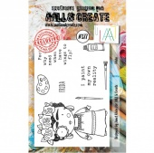 AALL and Create A7 Stamp Set #377 - Frida