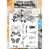AALL & Create A4 Stamp Set #388 - Winged Bugs