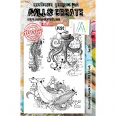 AALL and Create A5 Stamp Set #390 - Sea Life
