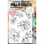 AALL and Create A5 Stamp Set #391 - Orchid Cluster