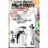 AALL and Create A5 Stamp Set #393 - Bird Song