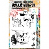 AALL and Create A5 Stamp Set #394 - Wire Birds