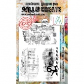 AALL and Create Stamp Set #399 - Framework Elements