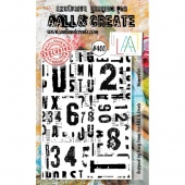 AALL and Create Stamp Set #400 - Numerator