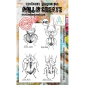 AALL & Create A6 Stamp Set #402 - Crawling Creatures