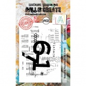 AALL and Create Stamp Set #438 - Ephemera Digits