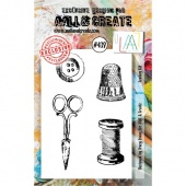 AALL & Create A7 Stamp Set #439 - Sewing Kit