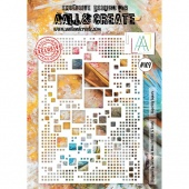 AALL and Create Stencil #109 Superbly Square