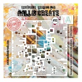 AALL and Create Stencil #113 - Lotza Squares