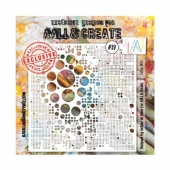 AALL and Create Stencil #39 - Lotsa Dotz