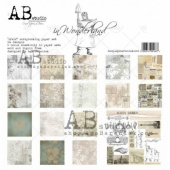 AB Studio Paper Set - In Wonderland plus Stamp