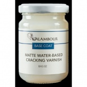 Calambour Water Based Cracking Varnish