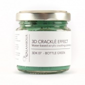 Calambour Crackle Effect Paste - Bottle Green