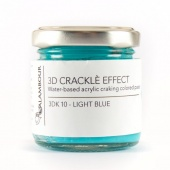 Calambour Crackle Effect Paste - Light Blue