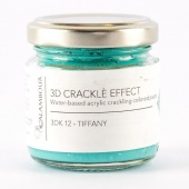 Calambour Crackle Effect Paste - Tiffany