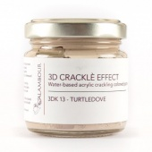 Calambour Crackle Effect Paste - Turtle Dove