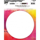 Carabelle Studio Mixed Media Papers - Round