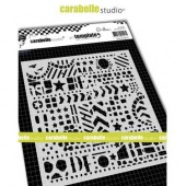 Carabelle Studio Stencil - Urban Graphics by Alexi - TECA60002