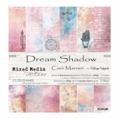 Craft O'Clock 12x12 Paper Pack - Dream Shadow
