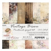 Craft O'Clock 12x12 Paper Pack - Vintage Bisou