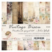 Craft O'Clock 6x6 Paper Pack - Vintage Bisou
