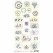 Craft O'Clock Die Cut Sheet - Lavender Hills