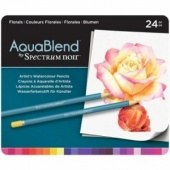 Crafters Companion Spectrum Noir AquaBlend Pencils - Florals