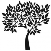 Crafter's Workshop Stencil - Faithful Tree - TCW831S