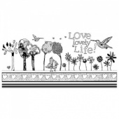 Crafty Individuals Stamp - Alice Palace Designs - Love Lovely Life - CI382