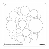 Creative Muse Designs Stencil - Circle of Circles